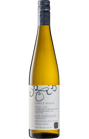 Small Lot Gewurztraminer 2016