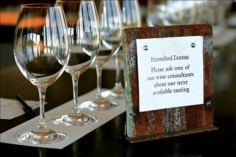 Seated Wine Tasting Experience